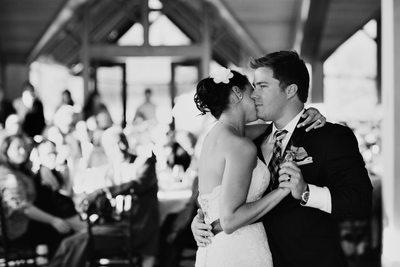 First Dance Wedding Photography at Edgewood Tahoe