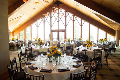 Edgewood Tahoe North Room Wedding Reception Photos