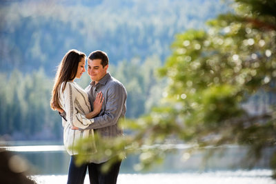 Fallen Leaf Lake Engagement Photographer