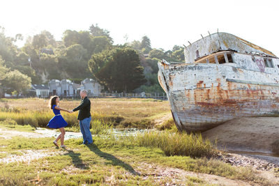 Point Reyes Engagement Pictures