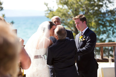 Edgewood Tahoe Golf Course Wedding Ceremony