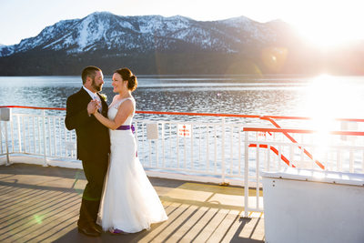 Tahoe Queen Wedding photography