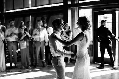 Zephyr Lodge Northstar Wedding Reception
