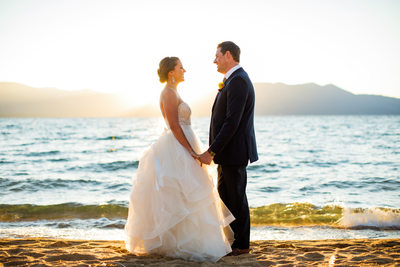 Wedding photos at Edgewood Tahoe North Room