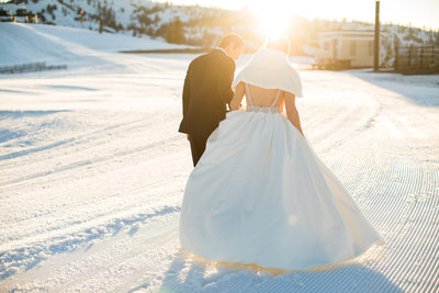 Wedding Photography at Squaw Valley High Camp