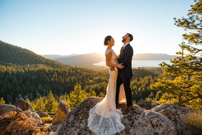 Tahoe Blue Estate Wedding Photography