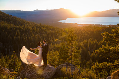 Tahoe Blue Estate wedding Photos