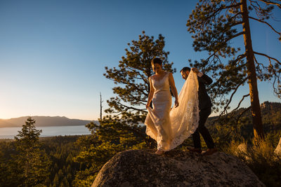 Tahoe Blue Estate Wedding Photographers