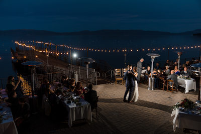 West Shore Cafe and Inn Wedding Photographer