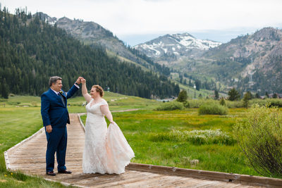 Resort at Squaw Creek Wedding Photo