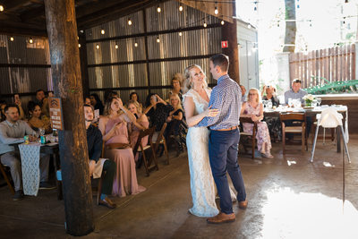 Mountain Shadows Retreat Wedding Reception Photos