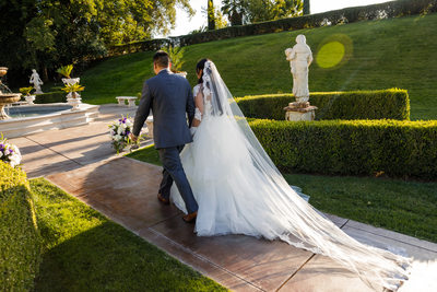 Amazing Grand Island Mansion Wedding Ceremony Photos