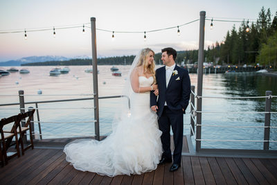 West Shore Cafe and Inn Wedding Photographs