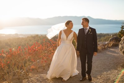Tahoe Blue Estate Wedding Photographs