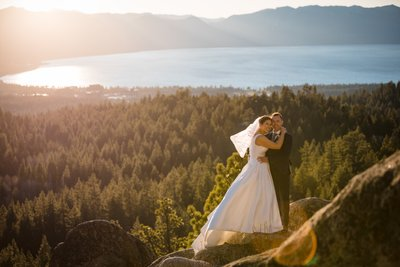 Tahoe Blue Estate Wedding