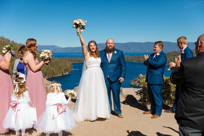 Emerald Bay Wedding Ceremony Photography