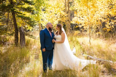 Lake Tahoe Fall Wedding Photography