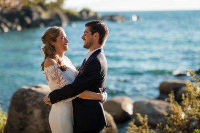 Sand Harbor Lake Tahoe Elopement Photography