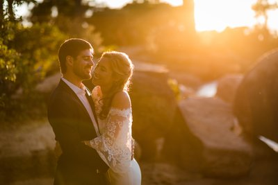 Sand Harbor Lake Tahoe Elopement Pictures
