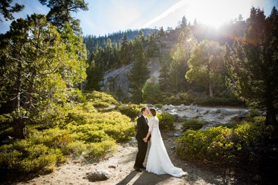 Emerald Bay State Park Wedding Photographs