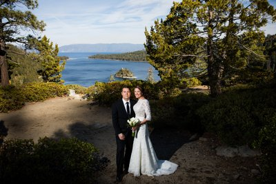 Emerald Bay Elopement Photos
