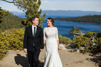 Emerald Bay Wedding Photos