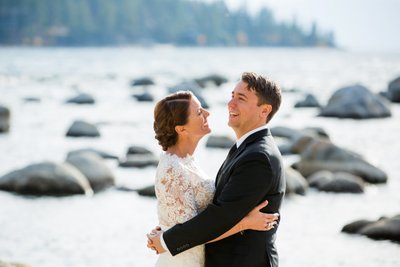 Top Zephyr Cove Elopement Photographer
