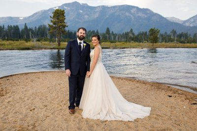 Kiva Beach Lake Tahoe Elopement