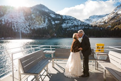 Tahoe Paradise Boat Wedding Photographers