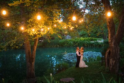 High Sierra Iris Wedding Gardens Photos