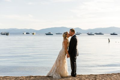 Hyatt Regency Lake Tahoe Wedding Photos
