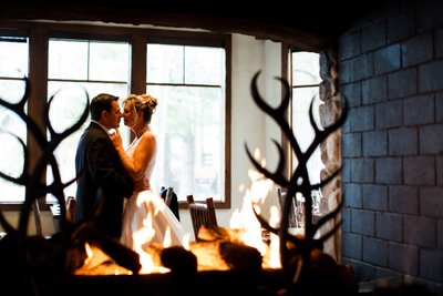 Hyatt Regency Lake Tahoe Winter Wedding Photos