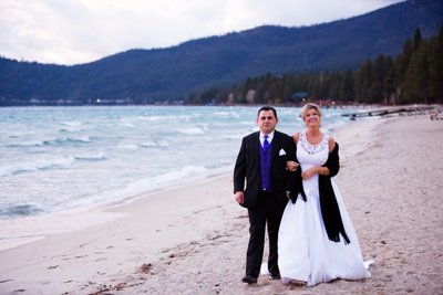 Hyatt Regency Lake Tahoe Winter Wedding Photographer