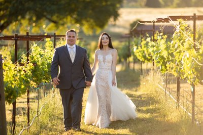Black Oak Mountain Vineyard Wedding Photos