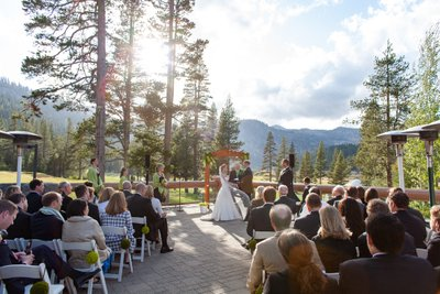 Resort at Squaw Creek Wedding Ceremony
