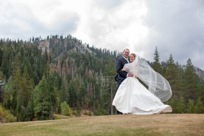 Resort at Squaw Creek Fall Time Wedding Photos
