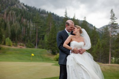 Resort at Squaw Creek Wedding Golf Course Photos