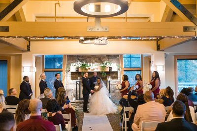Chateau at Incline Village Ballroom Wedding Ceremony
