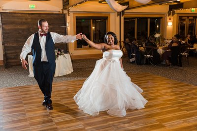 Chateau at Incline Village Wedding Reception Pictures