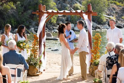 Round Hill Pines Beach Resort Wedding Ceremony Pictures
