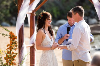 Round Hill Pines Beach Resort Ceremony Photo