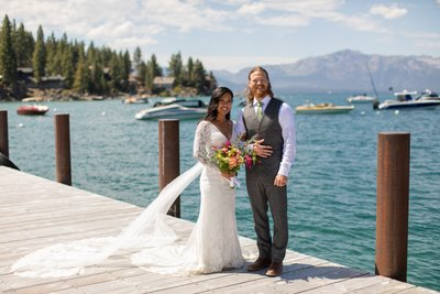 Round Hill Pines Beach Resort Elopement Pictures