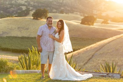 Taber Ranch Vineyard Wedding Photos