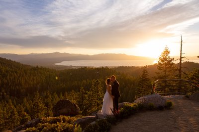 Tahoe Blue Estate Elopement Photographer
