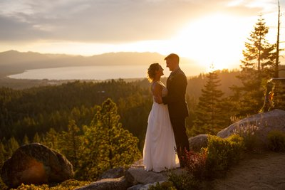 Tahoe Blue Estate Elopement Photos