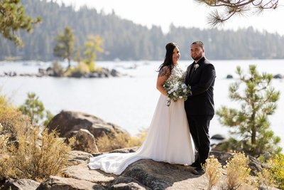 Elopement Picture South Lake Tahoe