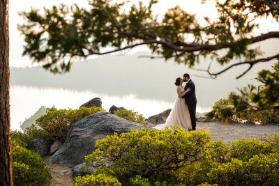 Emerald Bay Elopement Photography