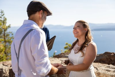 North Lake Tahoe Elopement Ceremony