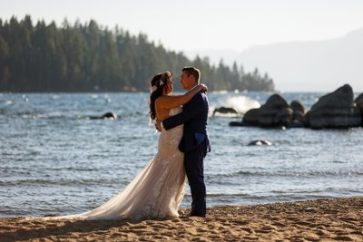 Elopement photographers South Lake Tahoe
