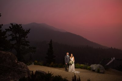Tahoe Blue Estate Elopement Photography